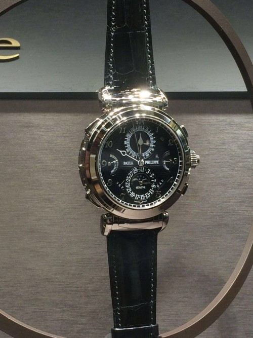 patek philippe grandmaster chime f r eur 2 2 mio. Black Bedroom Furniture Sets. Home Design Ideas