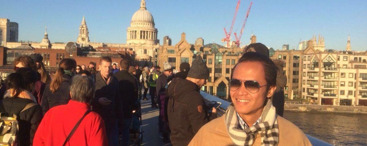 British enough? OOTD in London