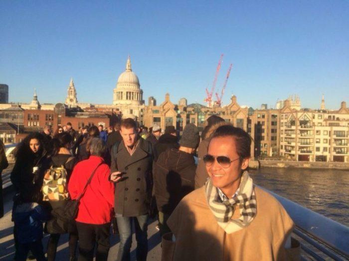 Foggy London? NOPE!