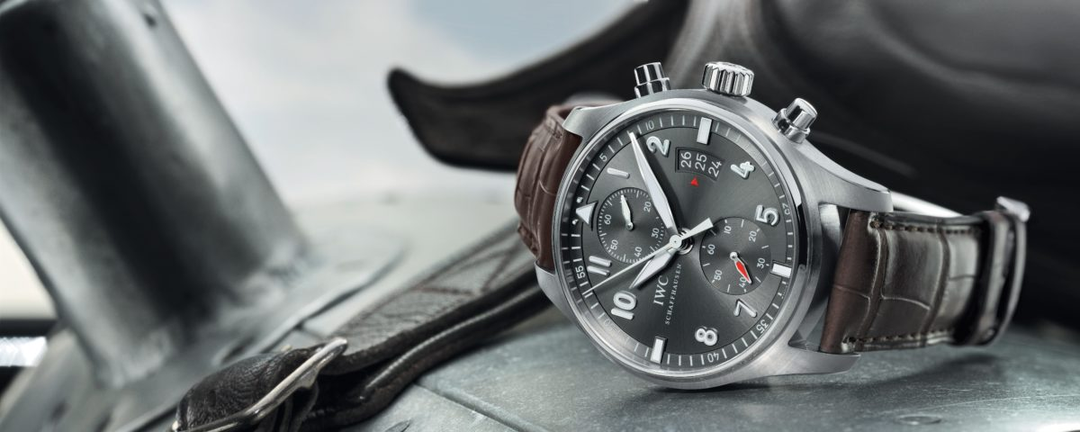 Guido Cantz x IWC Spitfire Flyback