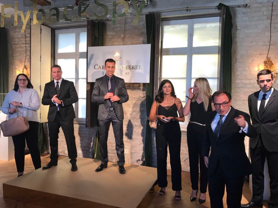 The whole team of Carl F. Bucherer