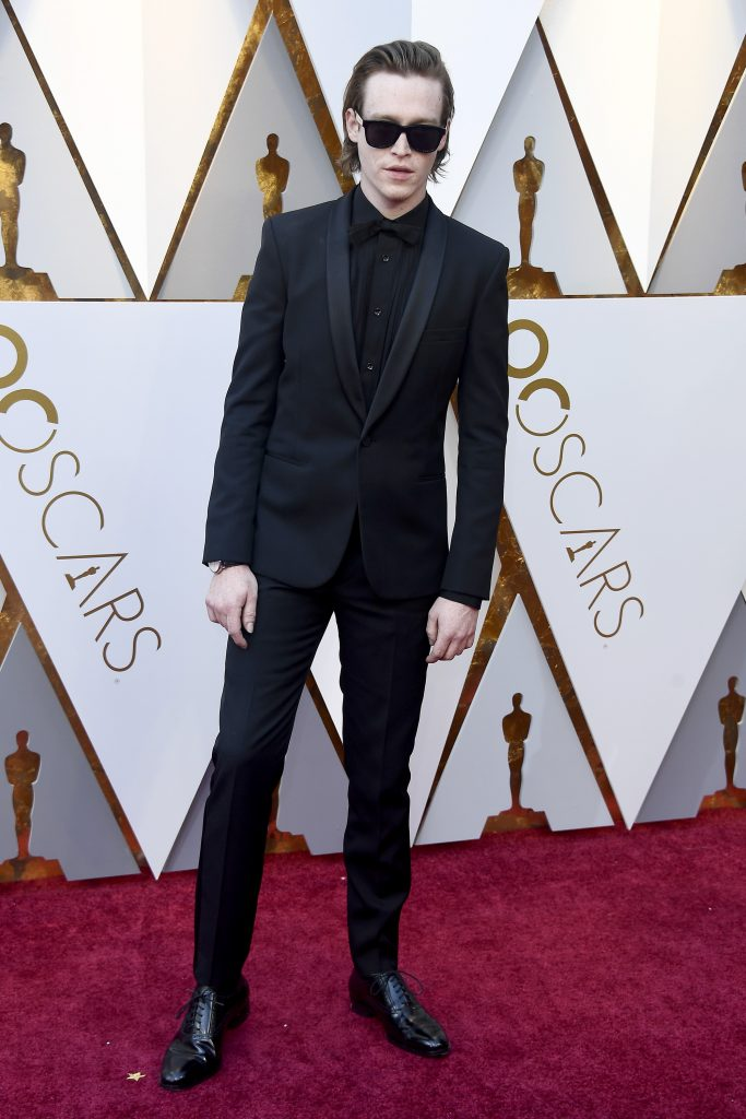 Caleb Landry Jones attends the 90th Annual Academy Awards at Hollywood & Highland Center on March 4, 2018 in Hollywood, California. (Photo by Frazer Harrison/Getty Images)