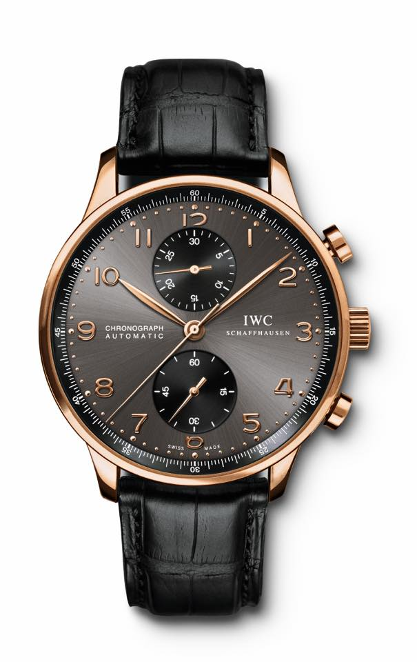 IWC Portugieser Chronograph in rosé gold (IW371482)