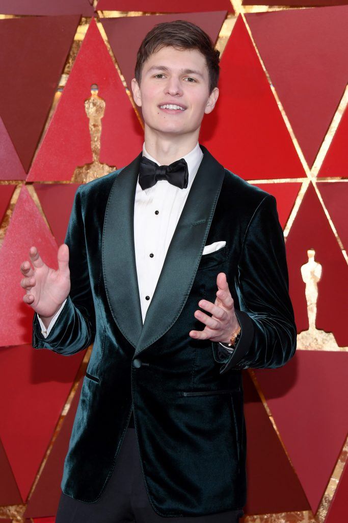 Ansel Elgort attends the 90th Annual Academy Awards at Hollywood & Highland Center on March 4, 2018 in Hollywood, California. (Photo by Kevork Djansezian/Getty Images)