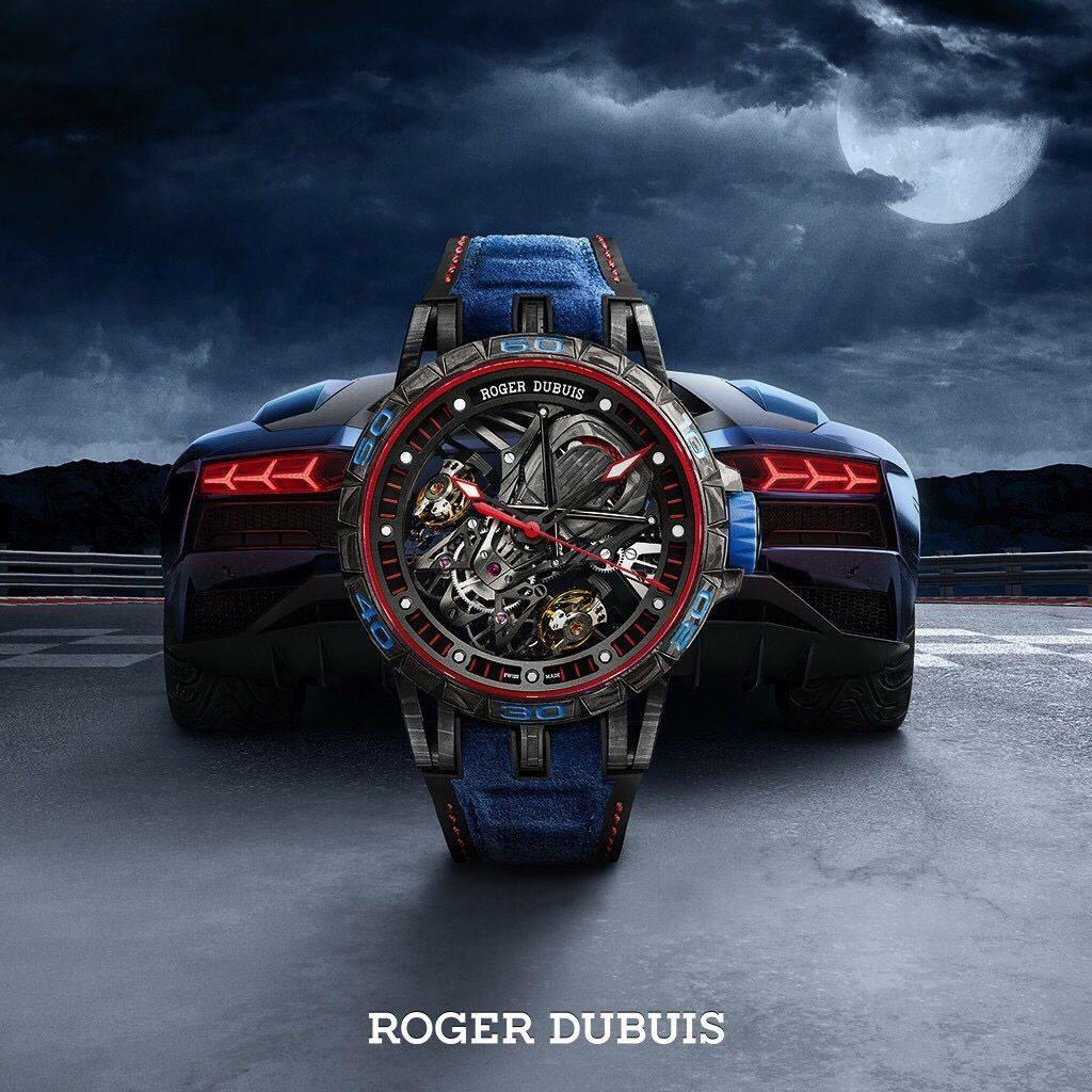 Roger Dubuis The Excalibur Aventador S BLUE (c) Roger Dubuis