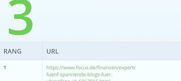TOP 3 der besten Uhrenblogger Deutschlands