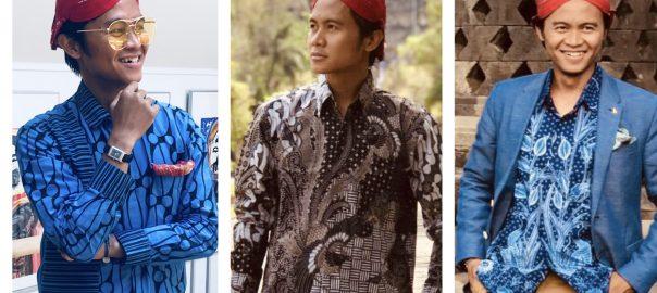 Drei Batik Outfits zum dritten Geburtstag