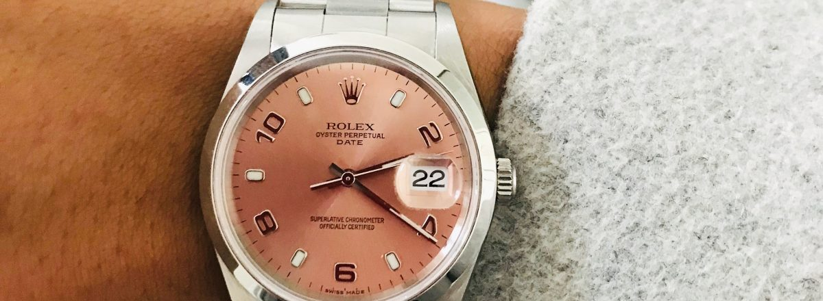 Watch Of The Day : Rolex Date Just