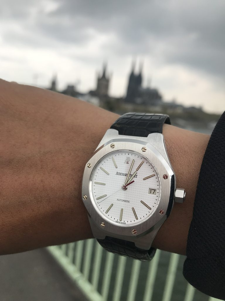 Chronondo wears Royal Oak Audemars Piguet