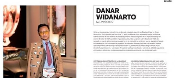 Danar Widanarto: Mr. Watches