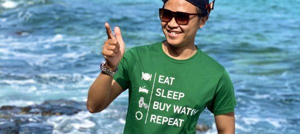 Eat, Sleep, Buy Watch, Repeat